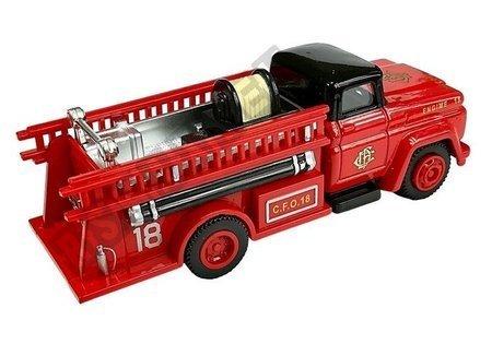 Set of fire brigade vehicles 3 pieces