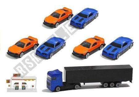 Sorter Truck with Die-cast Cars Accessories