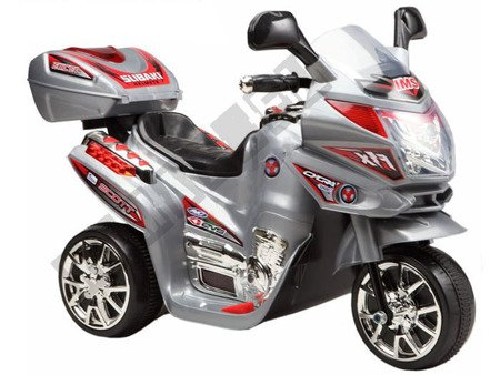 Super Kids motorcycles battery grey