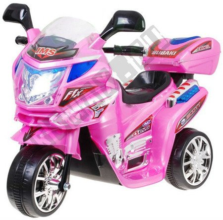 Super Kids motorcycles battery pink
