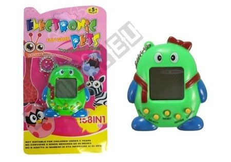Tamagotchi Electronical Animal Egg Green with Bow