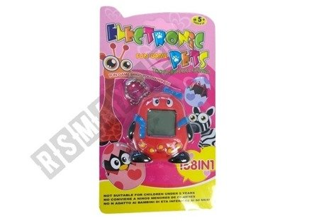 Tamagotchi Electronical Animal Egg Red with Bow