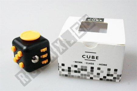 The original super FIDGET CUBE cube Black-Yellow