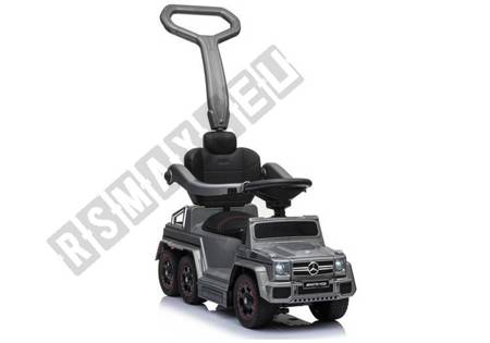 Toddlers Ride On Push Along with Parent Handle Mercedes 6x6 SX1838 Silver