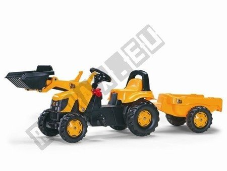 Tractor for Rolly Kid JCB pedals yellow!