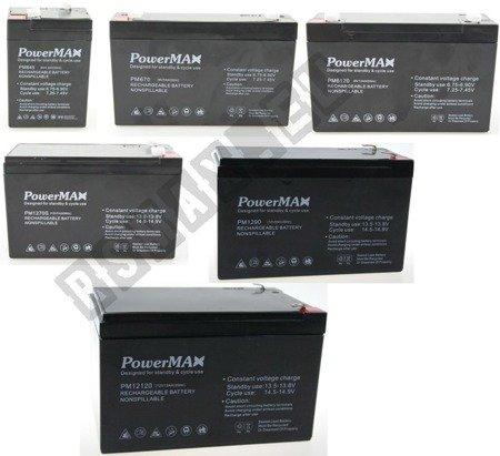 Vehicle batteries 6V/4,5Ah, 6v7Ah, 6v12Ah, 12v9Ah, 12v7Ah, 12v12Ah