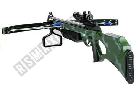 Armbrust mit Laser 3 Pfeile auf der Saugnapf Camo Waffe