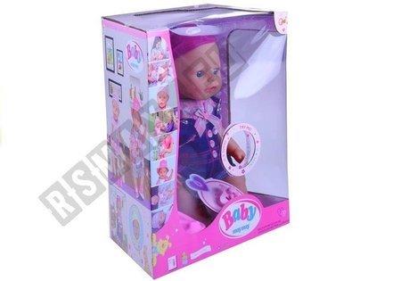 Babypuppe 43cm Puppe Baby mit Töpfchen großes Set für Mädchen