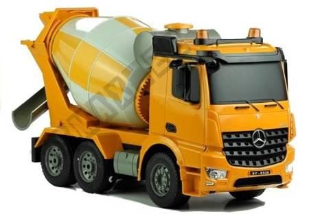 Betonmischer Mercedes Arocs Fernbedienung 2.4G Baumaschine Spielzeug für Kind