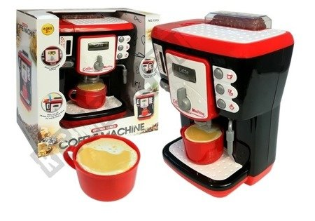Ekspres Do Kawy Czarno-Czerwony Automat
