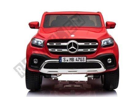 Elektroauto Mercedes X Rot Ledersitz EVA-Reifen Kinderfahrzeug Auto Fahrzeug