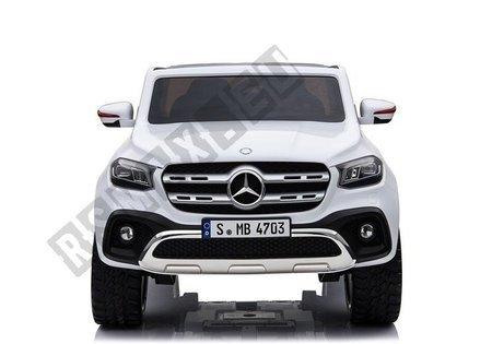 Elektroauto Mercedes X Weiß Ledersitz EVA-Reifen Kinderfahrzeug Auto Fahrzeug