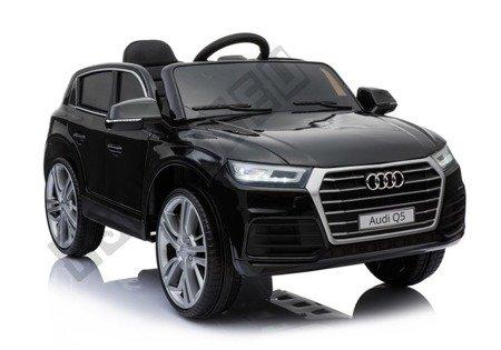 Elektroauto für Kinder Audi Q5 Weiß EVA-Reifen Ledersitz 2.4G Kinderfahrzeug