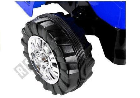 Elektroauto für Kinder Baggerlader Traktor Schlepper ZP1005 Blau 2.4G