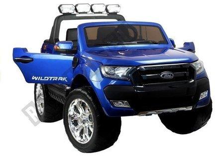 Elektroauto für Kinder Ford EVA-Reifen Blau lackiert 4x4 2.4G LCD Panel Auto