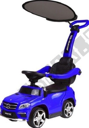 Fahrzeug-Schieber Mercedes GL63 Sonnenschirm blau
