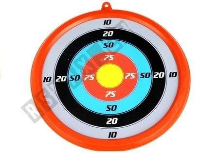 Große Armbrust mit der Zielscheibe 3 Pfeilen Set Köcher Spielzeug für Kinder