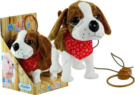 Hundeleine Spielzeug für Kinder 3+ Fernbedienung Hund interaktiver Hund