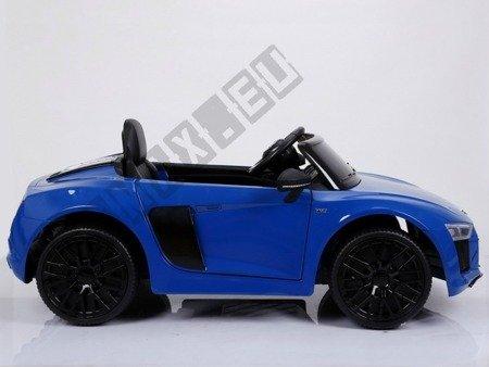 Kinderauto AUDI R8 SPYDER RS Lizenz Elektroauto Ledersitz EVA