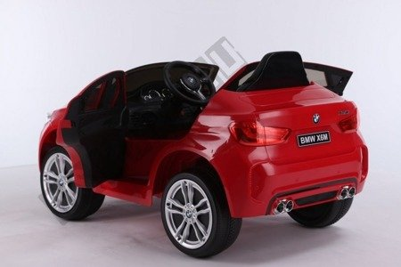 Kinderauto BMW X6M LIFT rot