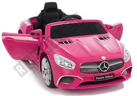 Kinderauto Mercedes SL Rosa
