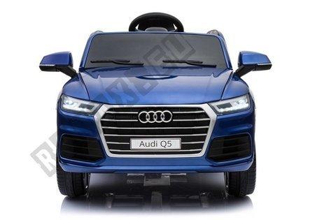Kinderfahrzeug AUDI Q5 Blau lackiert