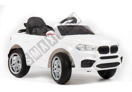 Kinderfahrzeug HL1538 Weiß Ledersitz weiche EVA-Reifen Fernbedienung 2.4G