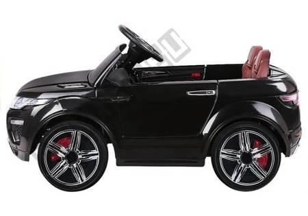 Kinderfahrzeug HL1618 Schwarz Ledersitz weiche EVA-Reifen 2.4G FM USB SD