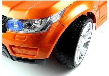 Kinderfahrzeug HL1638 Orange Ledersitz weiche EVA-Reifen Kinderfahrzeug