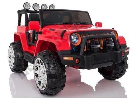 Kinderfahrzeug Jeep 4x4 A999 Rot