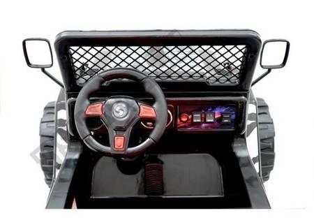 Kinderfahrzeug Jeep Raptor S618 EVA Schwarz 2x45W Fahrzeug Auto