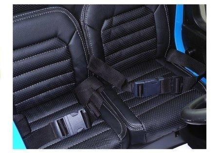 Kinderfahrzeug VW Amarok Blau 4x45W Ledersitz 2.4G EVA-Reifen LCD Panel