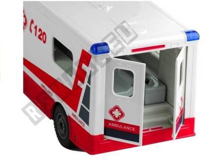 Krankenwagen 1:18 Fernbedienung 2.4GHz Fahrzeug Spielzeug für Kinder