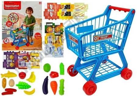 Marktwagen 34 Artikel für Kinder zum Einkaufen