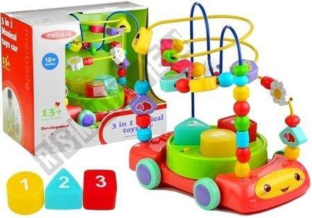 Motorikschleife 3in1 Auto Motorikspiel Spielzeug für Babys