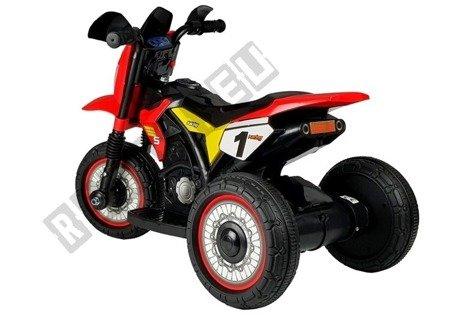 Motorrad GTM2288-A Rot LED Frontscheinwerfer 1x35W