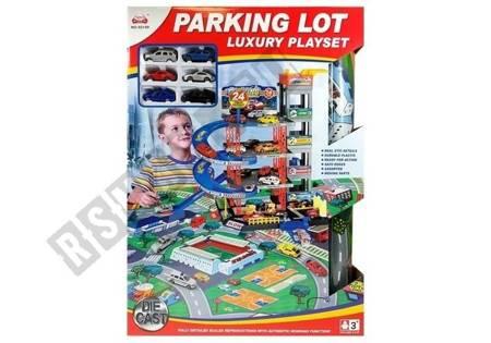 Parkplatz für Autos mit Aufzug 4 Ebenen + große Matte