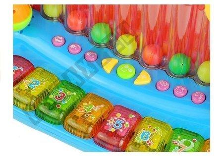 Piano Keyboard mit bunten Kugeln für Babys Sound&Licht Klavier