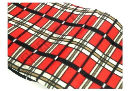 Picknickdecke 150x200cm rot kariert 2789 weiches Material Decke