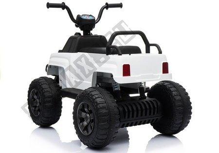Quad BDM0911 Weiß Fahrzeug für Kinder LED Frontscheinwerfer MP3 USB SD Quad