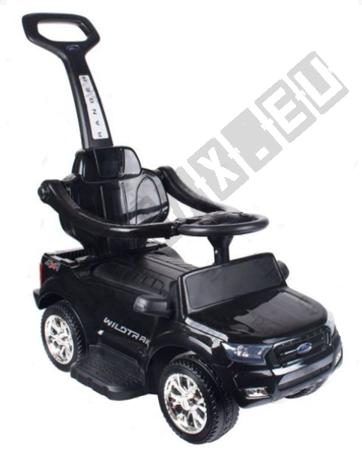 Rutschauto FORD RANGER Lizenz Kinderauto Rutschfahrzeug 3in1 Schwarz