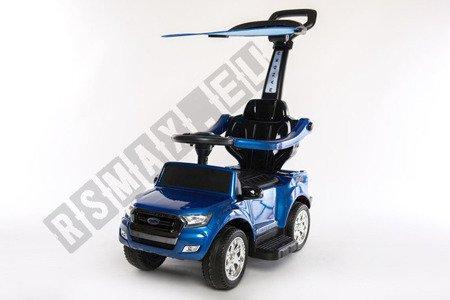 Rutschauto FORD RANGER Lizenz Rutscher Kinderauto Rutschfahrzeug Schiebeauto 4in1 Blau