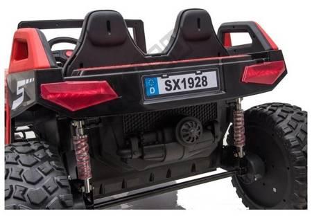 SX1928 Elektro-Aufsitzwagen 4x4 24V rot lackiert
