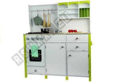 Spielküche umfangreiches Set Küchenzubehör Backofen Spülbecken Spielküche