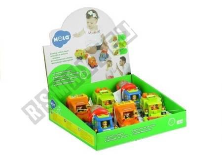 Spielzeugauto für Kleinkind Betonmischer Müllwagen Mähdrescher Autos für Kinder
