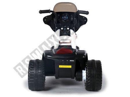 Super Elektromotorrad für Kinder Kindermotorrad Kinderfahrzeug Dreirad schwarz