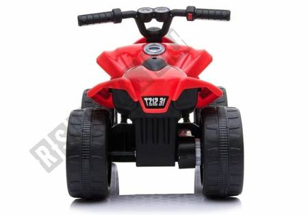 TR1805 Elektro-Ride-On Quad Rot