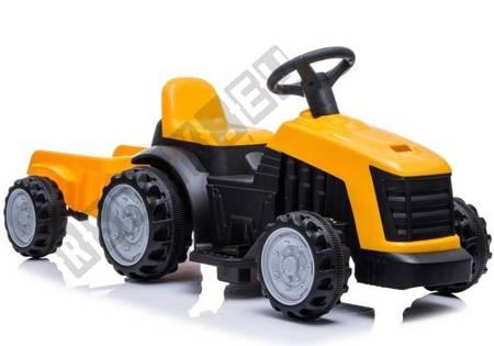 Traktor mit Anhänger TR1908T Gelb