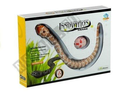 ferngesteuerte Schlange Fernbedienung Orange Set Spielzeug für Kinder 5+