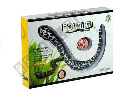 ferngesteuerte Schlange Fernbedienung Schwarz Set Spielzeug für Kinder 5+